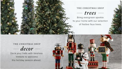hudson bay christmas tree ads hudson s bay canada deals save 50 trees 30 decor 15