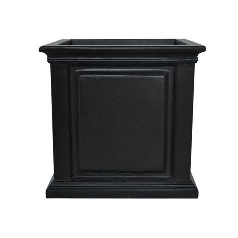 Chippendale Square Planter by Dmc Chippendale 14 In Square Green Wood Planter