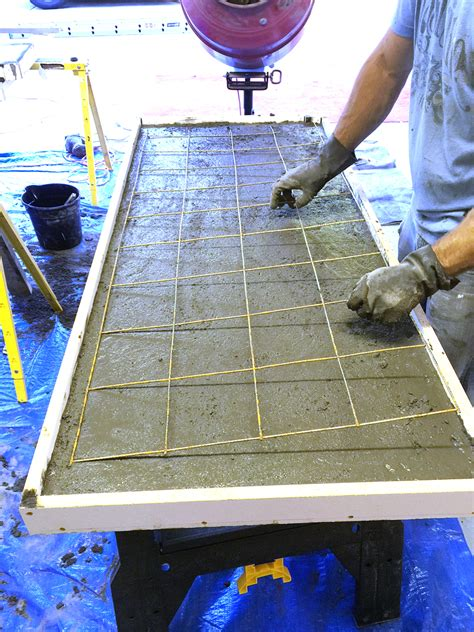 bar top materials how to do concrete countertops bower power