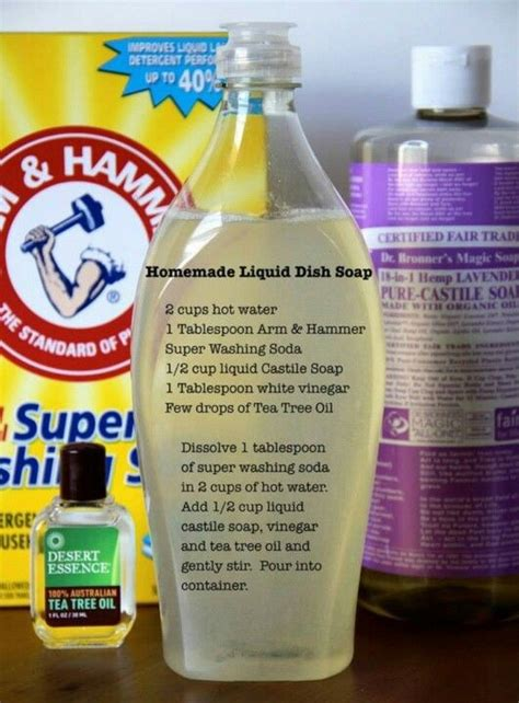 Handmade Liquid Soap Recipes - liquid dish soap recipe cleanser recipes