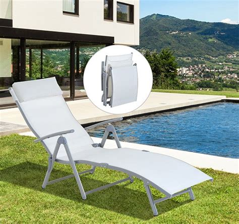 white chaise lounge chair cushions outsunny patio reclining chaise lounge chair with cushion