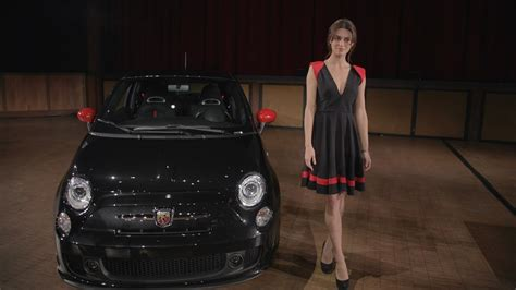 Catrinel Menghia Fiat by Supermodel Catrinel Menghia Seduces New Fiat 500
