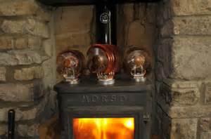 wood burning fireplace fans