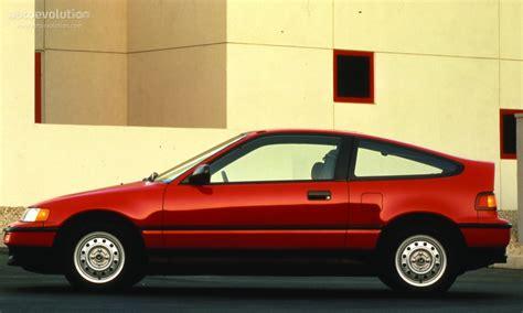 HONDA Civic CRX specs   1988, 1989, 1990, 1991, 1992, 1993