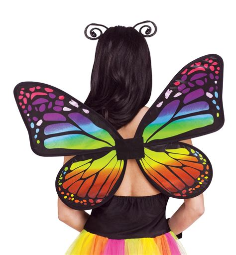 butterfly themes pvt ltd happytime novelty co rainbow butterfly wings adult