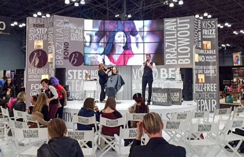 hair industry trade shows the top trends at new york s march beauty shows