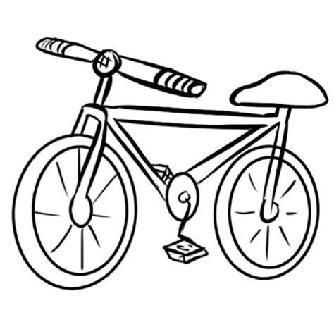 una imagen navideña para colorear imprimir dibujo de una bicicleta para colorear dibujos