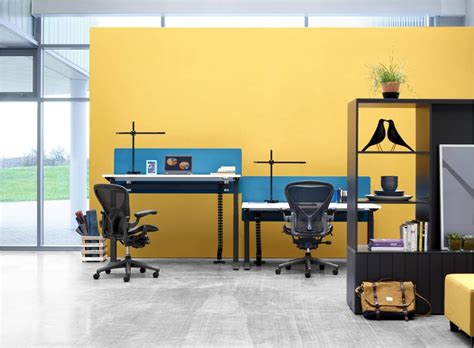 herman miller office desk herman miller ratio sit stand desk office furniture scene