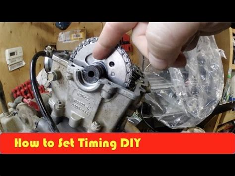 arctic cat 650h1 camshaft and timing set up diy youtube