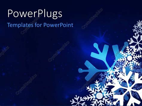 festive powerpoint templates powerpoint template festive blue background