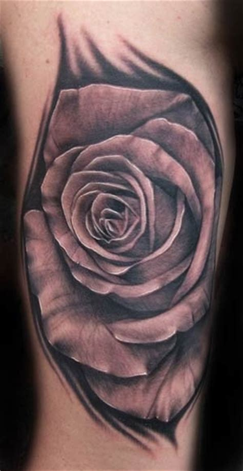 amazing rose tattoos amazing black and white on forearm