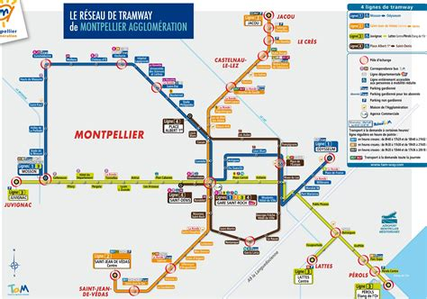 maps maps maps montpellier tram map