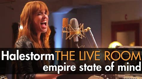 Halestorm Live Room by Halestorm Quot Empire State Of Mind Quot Z Cover Captured In The Live Room