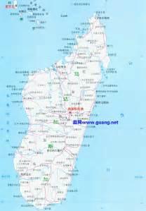 马达加斯加地图 科摩罗地图