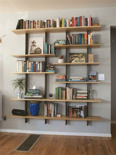best 25 floating bookshelves ideas on