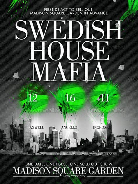 Swedish House Mafia Square Garden by Design A Poster For Swedish House Mafia At Square