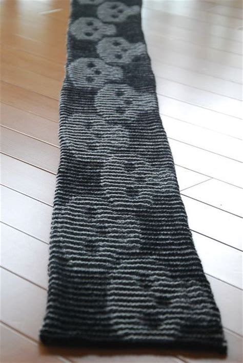 knitting pattern skull scarf ravelry mark s skull illusion scarf pattern by cathy