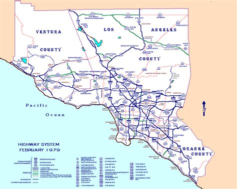 california state freeway map california highways map