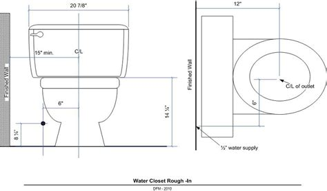 bathroom rough in layout diagram for plumbing toilet to sewer diagram free engine
