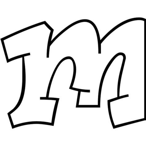 lettere in grassetto da colorare disegno di lettera m da colorare per bambini