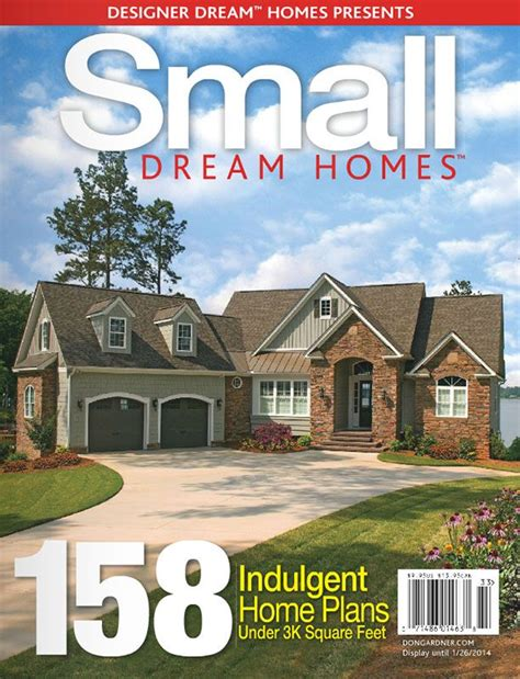 home plans magazine small homes free edition houseplansblog