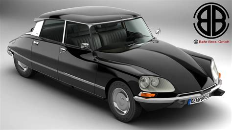 Citroen Pallas by Citroen Ds 23 Pallas 3d Model Buy Citroen Ds 23 Pallas