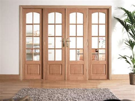 W6 Oak Interior French Door Set With Sidelights At Express Interior Door With Sidelights