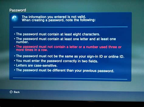 reset playstation online password sony playstation network back then gone again psnfail