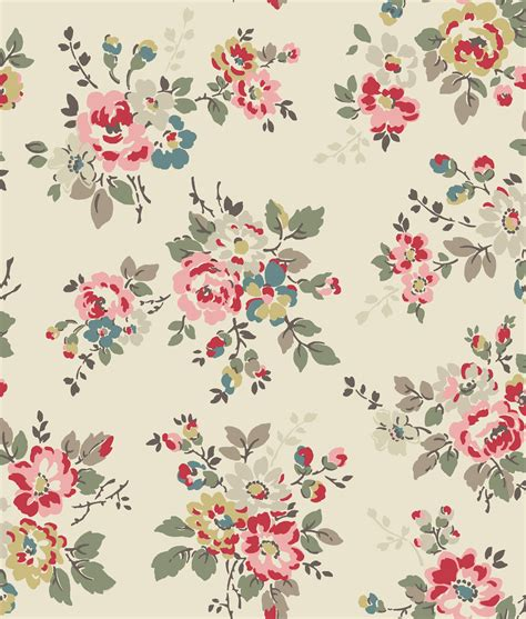 floral pattern artwork kingswood rose a signature trailing floral print cath
