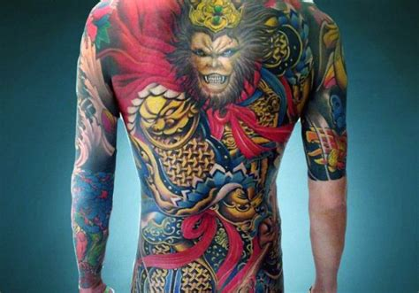 golden monkey tattoo 60 monkey king designs for sun wukong ideas