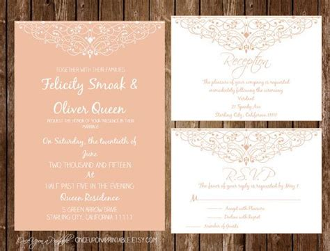print at home invitation templates instant printable wedding invitation reception