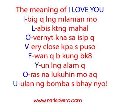 origin of the word love i love you quotes tagalog quotesgram