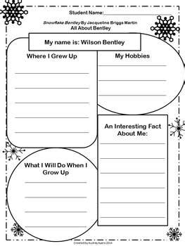 snowflake bentley worksheets snowflake bentley worksheets creative writing songs