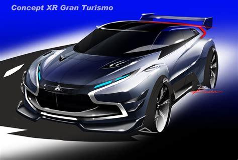 mitsubishi concept xr phev vision granturismo scores a super evo crossover