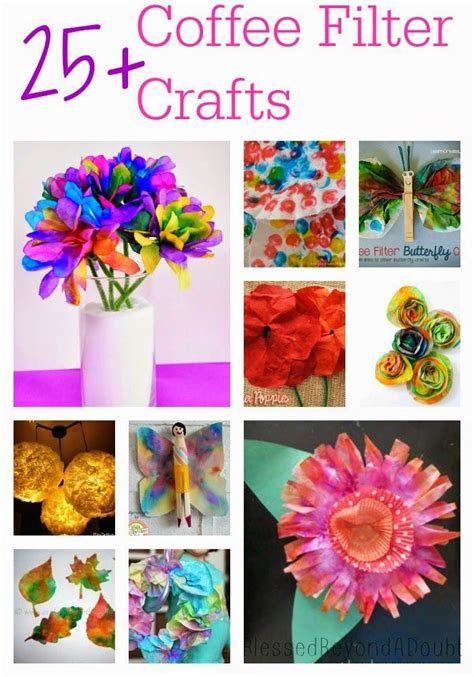 coffee filter crafts for 25 coffee filter crafts and ideas