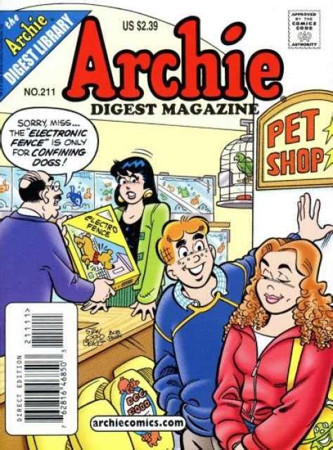 Archie Digest 224 archie digest magazine 211 issue