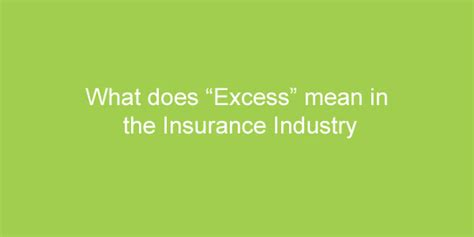 what does in excess mean when buying a house fetch ie blog insurance information and advice