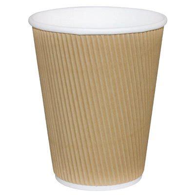 buy coffee cups fiesta takeaway coffee cups ripple wall kraft 225ml x500