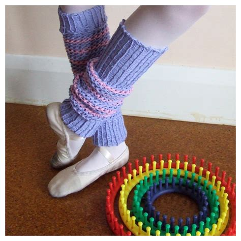 how to knit a warmer fitzbirch crafts knifty loom knit leg warmers