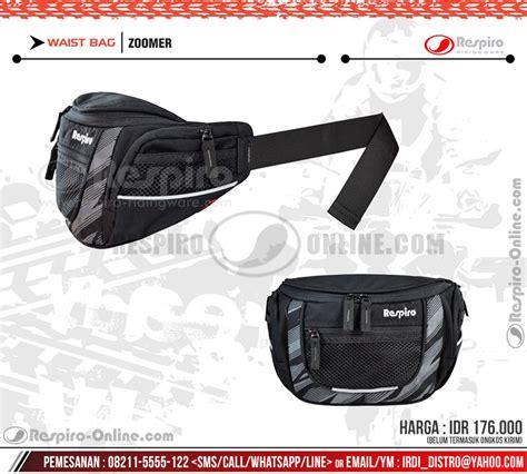 Waist Bag Sarung Senjata Pinggang tas pinggang respiro zoomer respiro