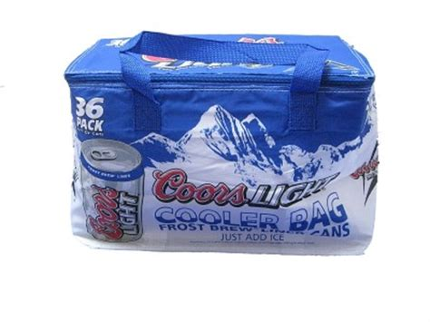 coors light cooler bag new coors light collapsable soft cooler bag 36 pack ebay