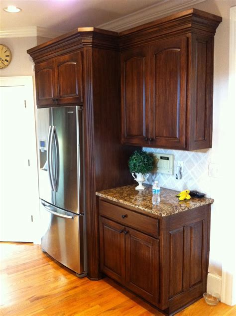 Wood Grain Kitchen Cabinets by Faux Wood Grain On Mdf Kitchen Cabinets By Www Kbwalls