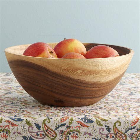 fruit bowl acacia wood acacia fruit bowl