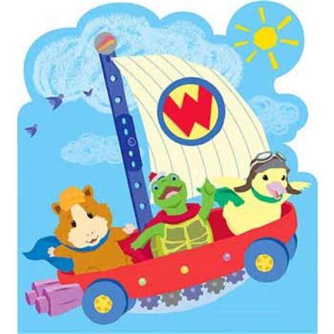 nick jr wonder pets fly boat wonder pets nick jr headboard mural wallpaper border