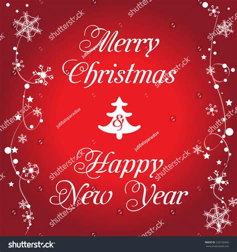 merry christmas  happy  year christmas background  typography vector