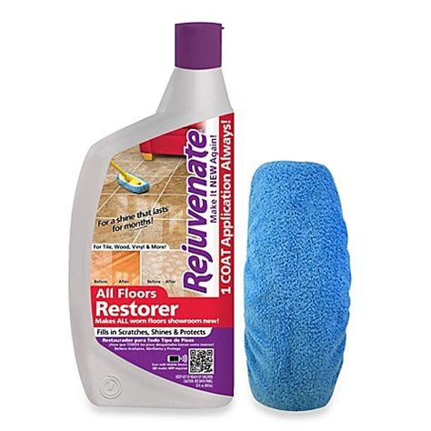 buy rejuvenate 174 32 ounce floor restorer with applicator bonnet from bed bath beyond