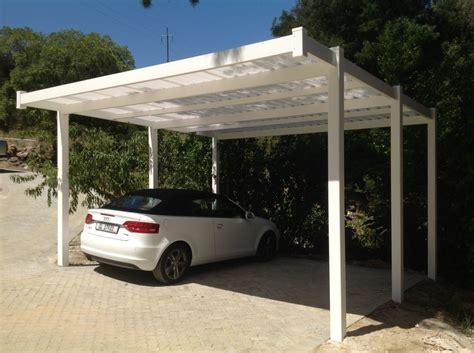 tettoia in pvc tettoia per auto come realizzare