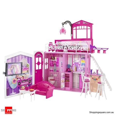 barbie glam vacation house with doll barbie doll glam vacation house online shopping shopping square com au online