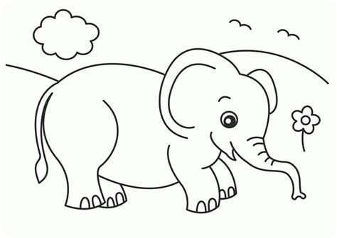 elephant piggie coloring pages az coloring pages