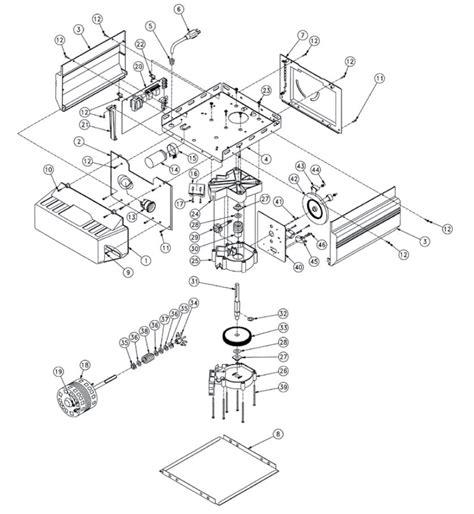 rail assy diagram parts list for model isd1000 genie